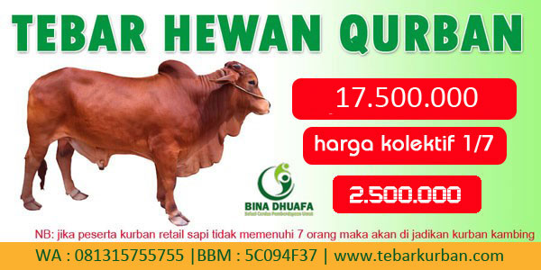 Program Tebar Hewan Qurban 2016
